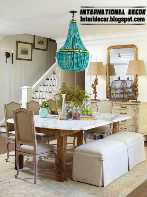 ottoman and banquette for dining room