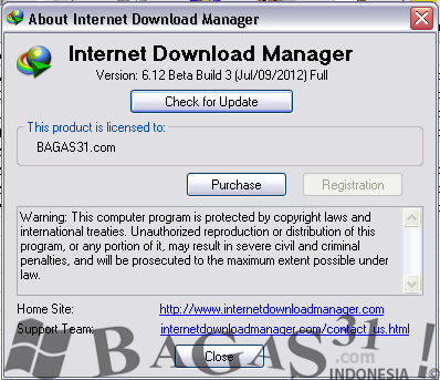 Internet Download Manager 6.12 Build 3 Full Patch 3