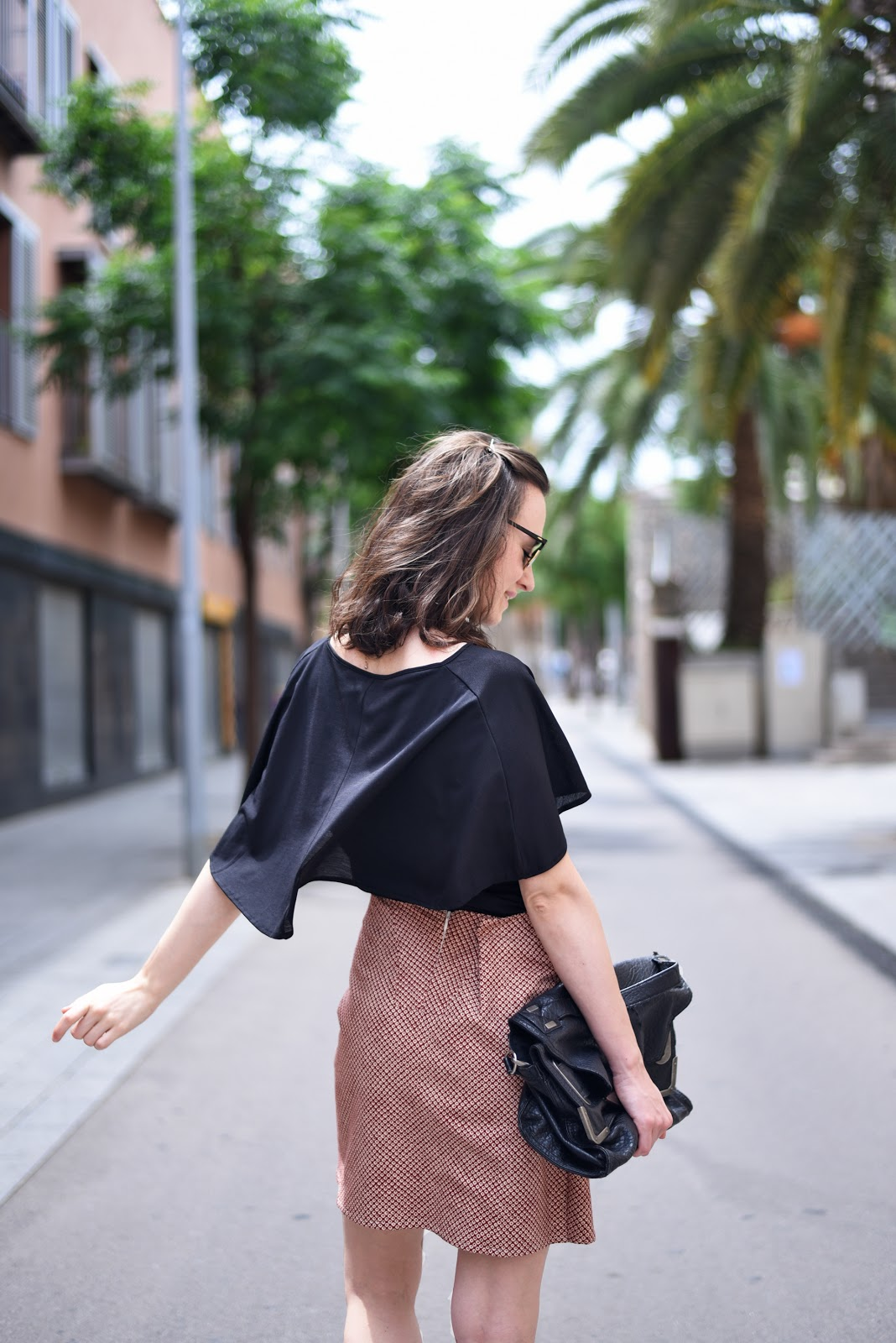 cwrap skirt streetstyle