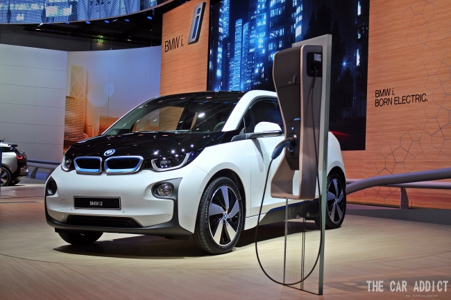 BMW i3 at Frankfurt Motor Show 2013