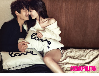 Kim So Yeon Kwak Si Yang Cosmopolitan January 2016