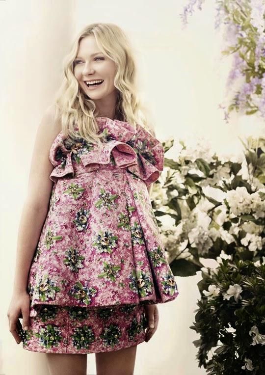 Kirsten Dunst Harper's Bazaar