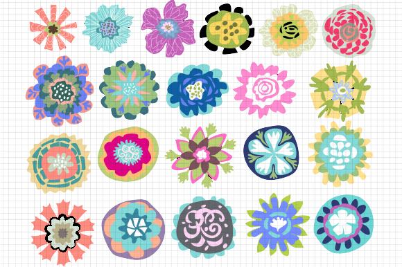 https://creativemarket.com/karenfields/194684-Flower-Logo-Motifs-21-Vectors