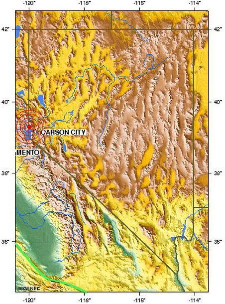 Nevada usa earthquake 2012 june 27