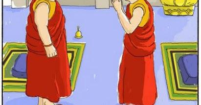 BUDDHIST CARTOONS: Buddhist Compliment