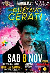 Homenaje a Cerati - SAB 8 NOV - Ophera CC. Plaza Norte