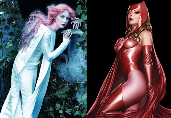 Marvel já considera a atriz para interpretrar a Feiticeira Escarlate em 'Os Vingadores 2'