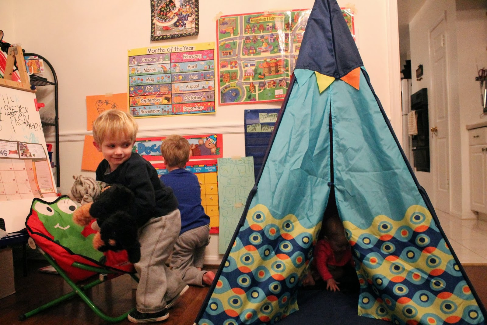 The 12 Days of Toys Day 11 B Toys TeePee  sc 1 st  The Chirping Moms & The 12 Days of Toys: Day 11 B Toys TeePee - The Chirping Moms
