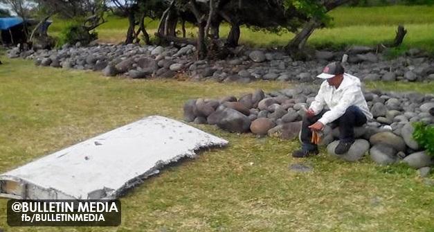 Serpihan Didakwa Milik MH370 Ditemui – M'sia Hantar Penyiasat