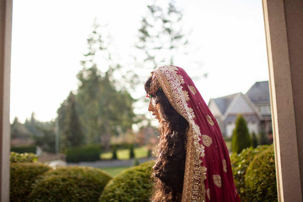 indian wedding, south asian wedding, bridal portrait, dupatta
