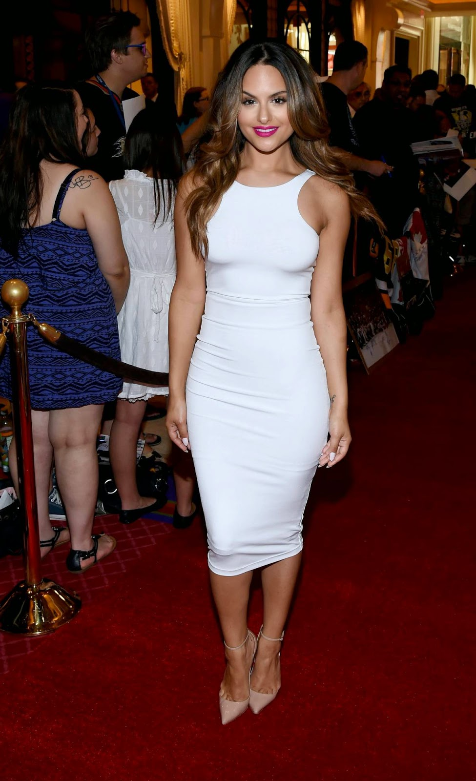 Pia Toscano Looking HOT in NHL Awards Las Vegas 2014