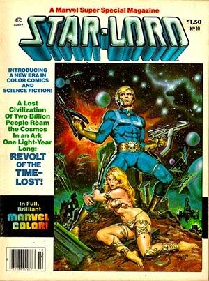 Star Lord retro vintage