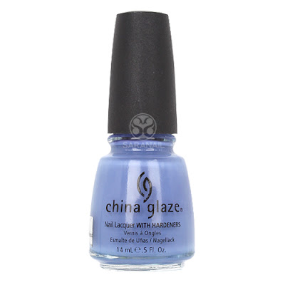 China Glaze - China Glaze Secret Periwinkle