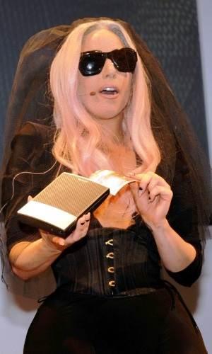 A cantora Lady Gaga_Polaroid