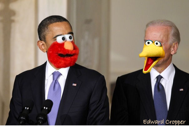 big bird obama biden