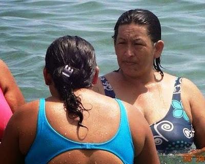 La mujer de gran parecido a Hugo Chávez, ¿real o montaje?