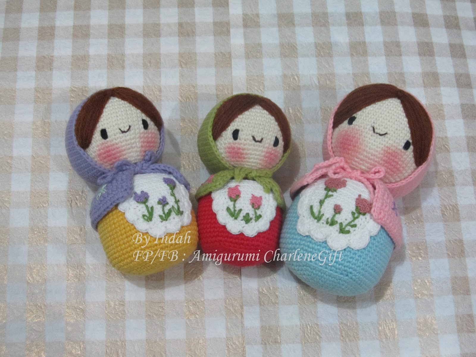 Amigurumi Boneka : Amigurumi charlene gift n craft matryoshka the most famous