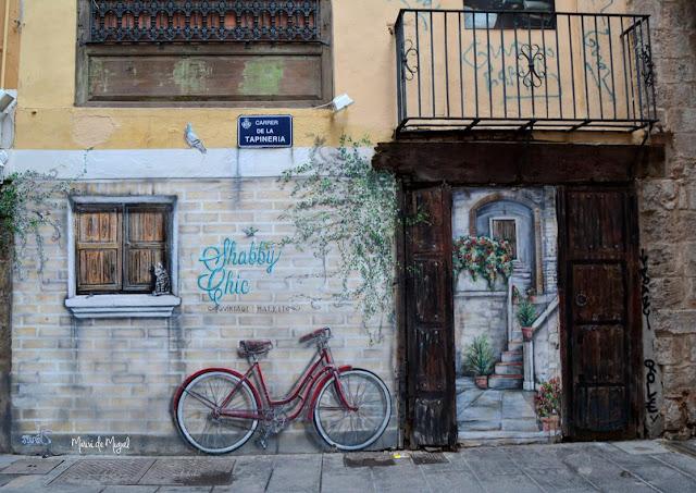 PhotowalkVLC - mural Calle Tapinería