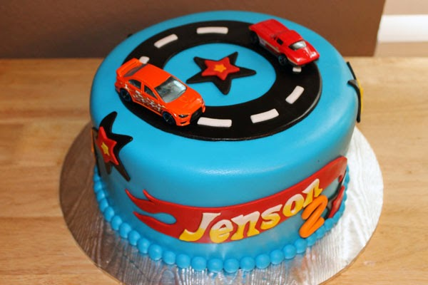 Tortas Hot Wheels, parte 4