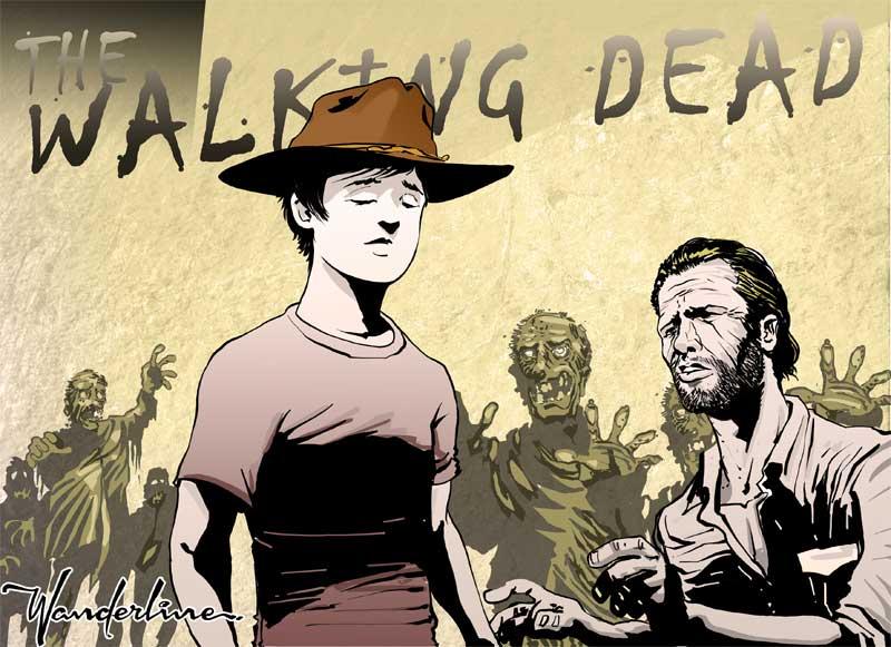 Tempo de arte the walking dead - Walking dead livre de poche ...