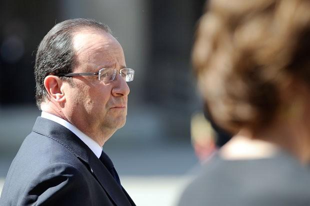 Hollande disse que casamento gay acompanha 'evolução' da sociedade (Foto: Lionel Bonaventure/AFP)