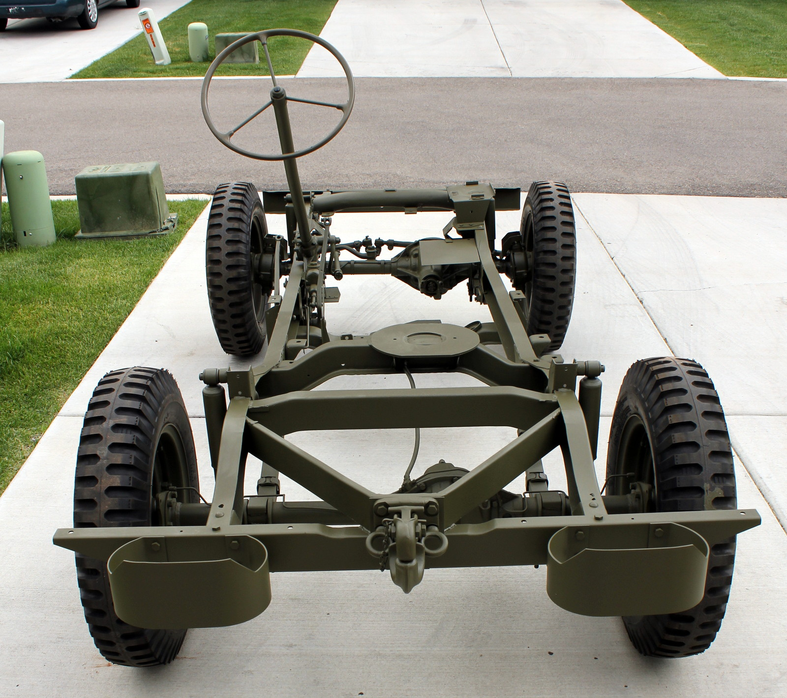 1943 willys mb jeep restoration project may 2013. Black Bedroom Furniture Sets. Home Design Ideas