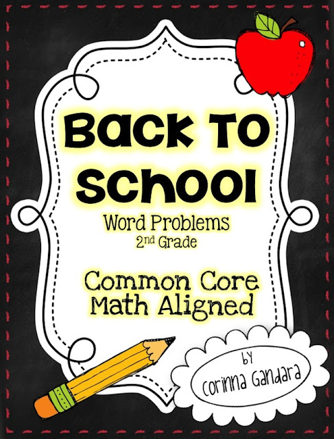 Common core word problems 2nd grade
