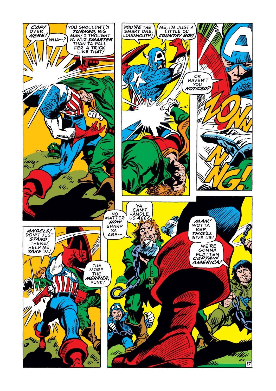 Captain America (1968) Issue #128 #42 - English 17
