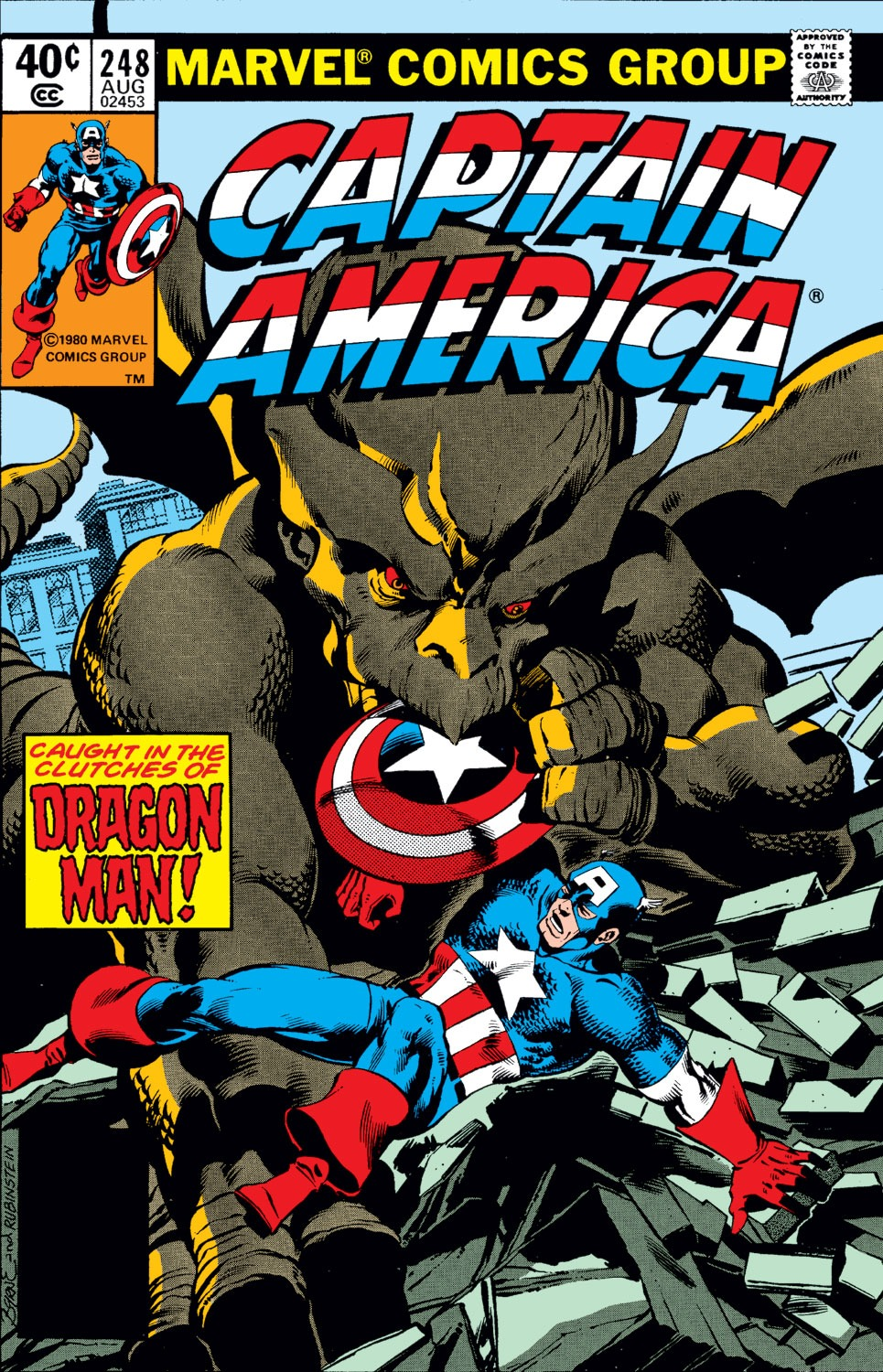 Captain America (1968) Issue #248 #163 - English 1