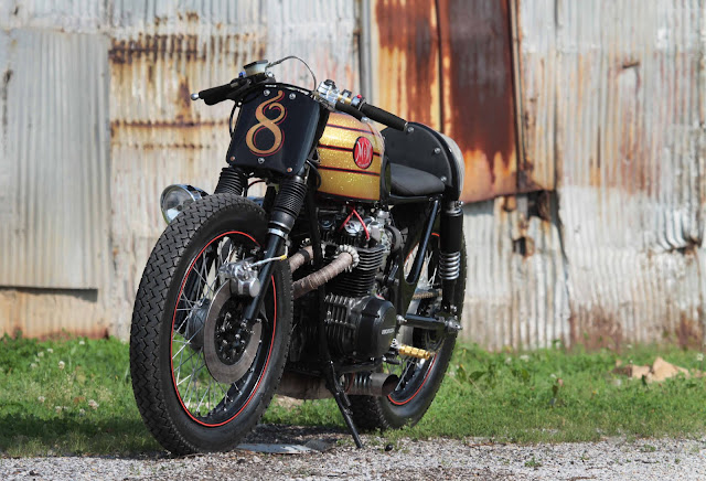 Honda CB500 Cafe Racer | By M&M Customs | Custom Bikes | Honda Cafe Racer | Honda cafe racer Parts