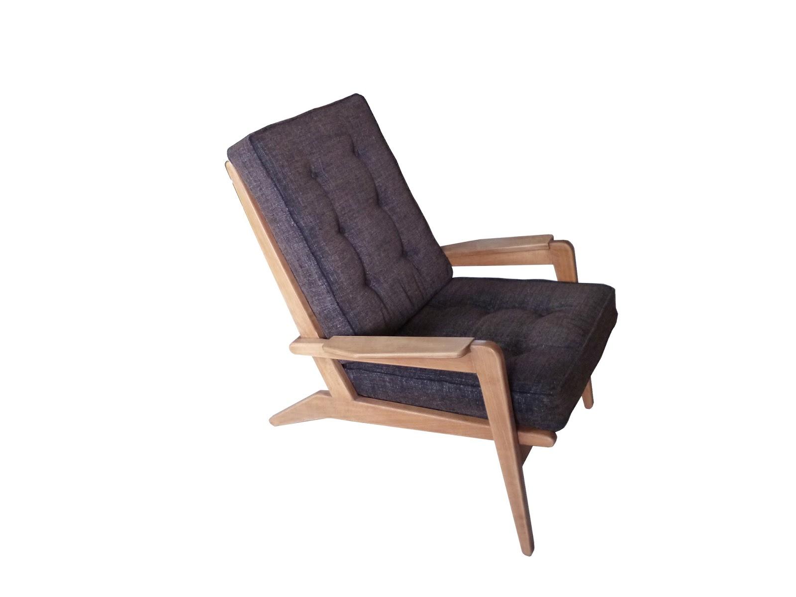 pierre guariche paire de fauteuil free span fs105 la renaissance du design xx. Black Bedroom Furniture Sets. Home Design Ideas