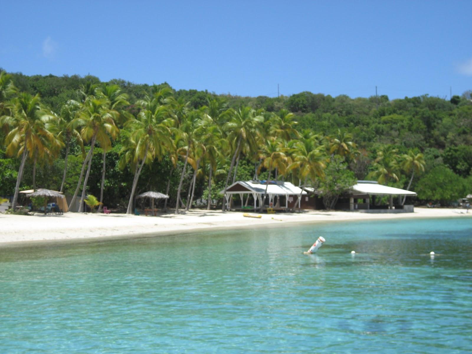 Carolyn knits beaches for St thomas honeymoon beach