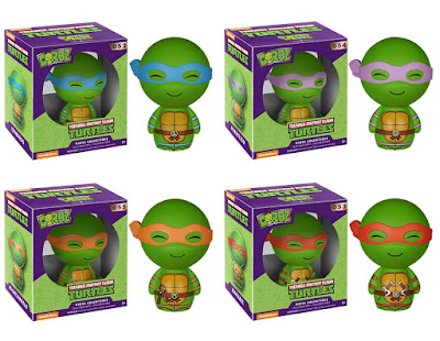 Teenage Mutant Ninja Turtles Dorbz Vinyl Figures Series by Funko x Vinyl Sugar - Leonardo, Donatello, Michaelangelo & Raphael