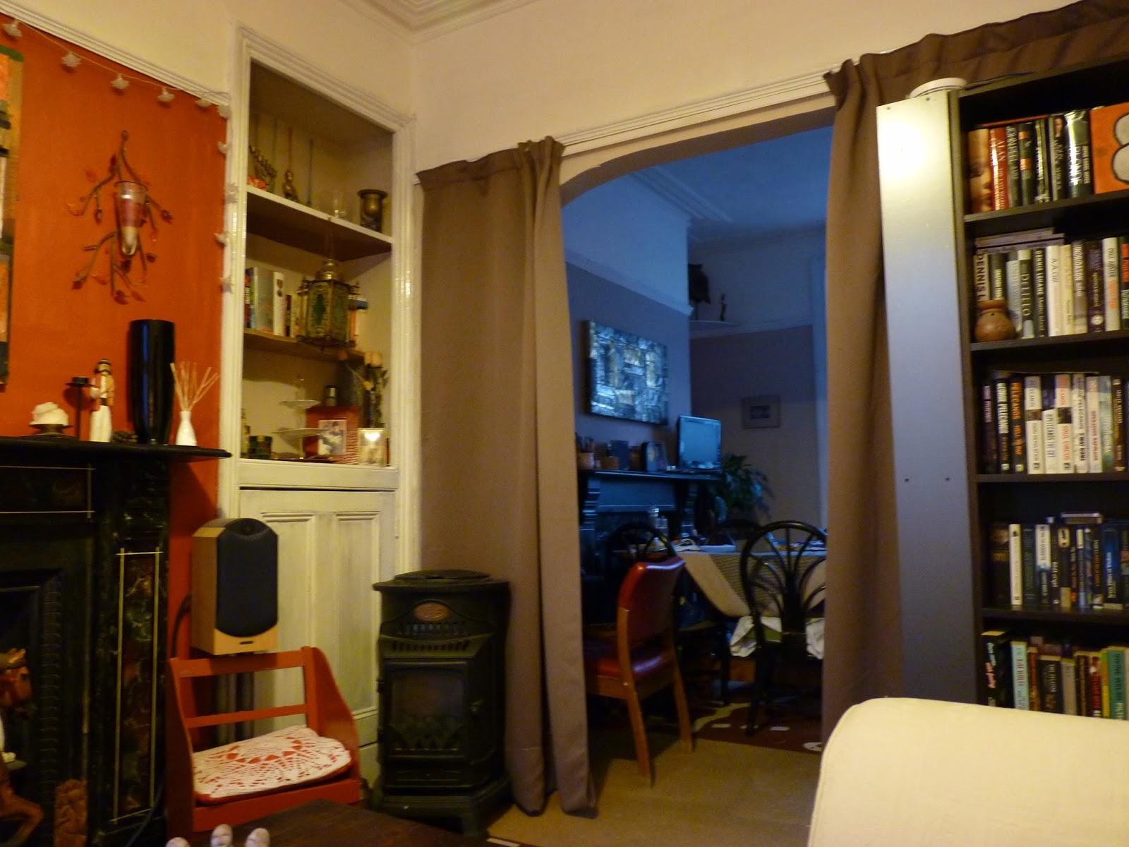 Manuela and family: les rideaux du Plessis dans mon salon