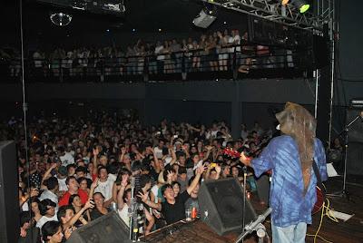 show ventania no palco