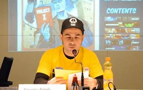 Presentazione libro anni 80 a Lucca Comics 2013
