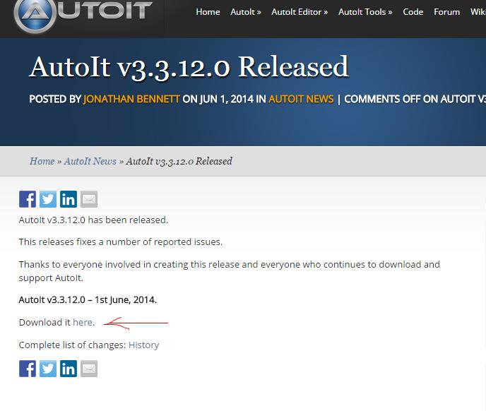 Instal AutoIt Bot COC