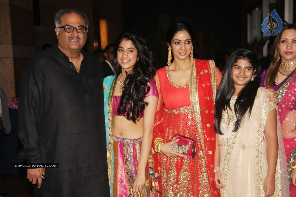 actress sridevi with daughters hot photos watch latest