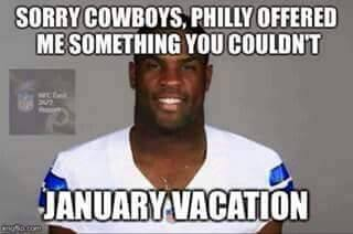 sorry cowboys, philly offered me something you couldn't january vacation.- #cowboys #nfl #philly #vacation