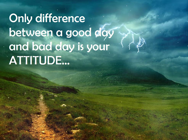 Motivational Quotes : ATTITUDE - Kshitij Yelkar
