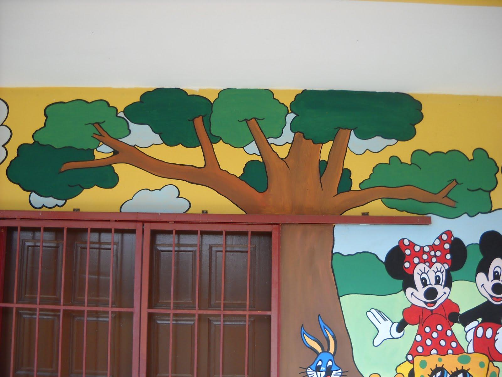 Pelukis mural shah alam kartun kanak kanak for Mural yang cantik