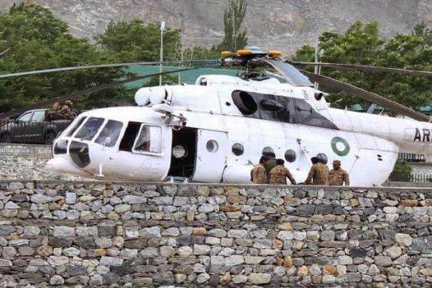 Nahas Helikopter Isteri Duta Malaysia Ke Pakistan Terbunuh