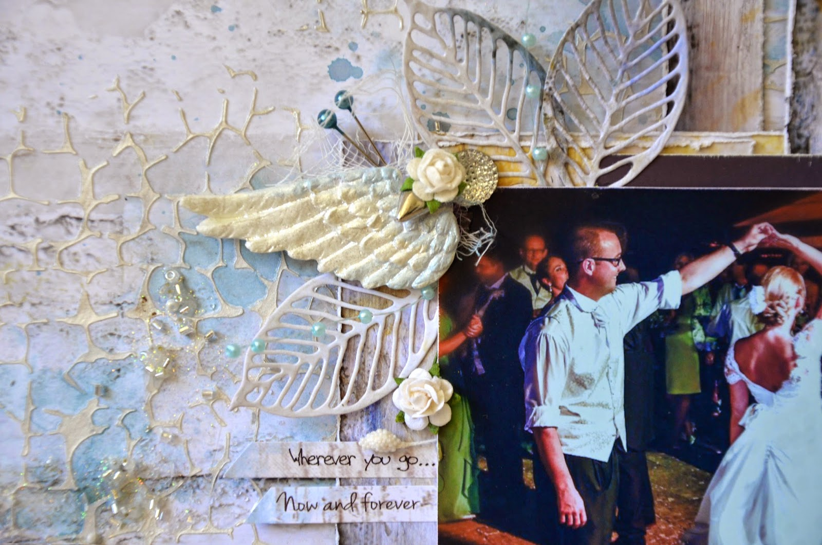 Scrapbooking Wedding layouts