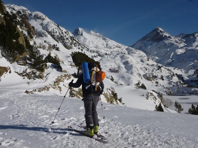 Esqui de montaña Respumoso-Wallon-Panticosa