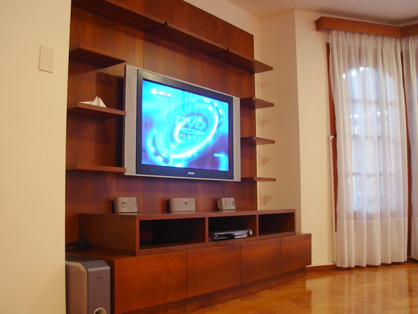 Diseño de muebles para Livings  Bibliotecas, Estanterias, Modulares