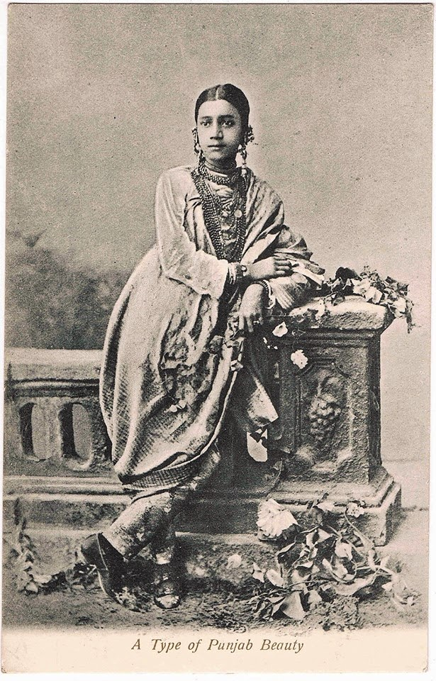 A Type of Punjab Beauty - c1910's