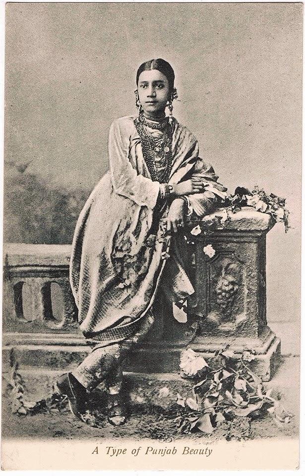A Type of Punjab Beauty - c1910's