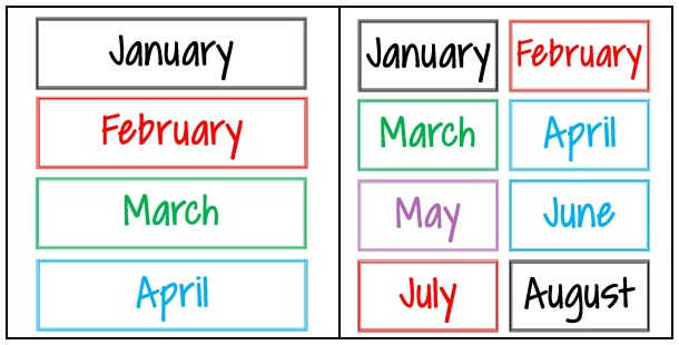 How to Plan a Year of Dates. Labels for envelopes for the gift | Managing a Home