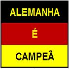 ALEMANHA CAMPEÃ DA COPA