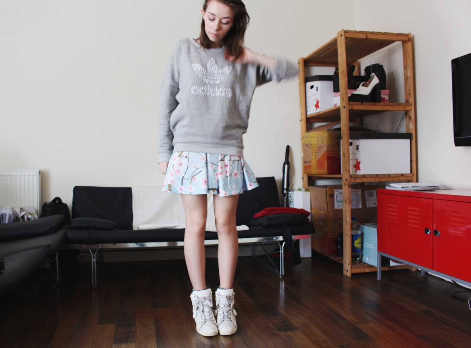 uk fashion blog adidas originals styled 4 ways